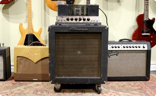Ampeg B15 Nf 1967 Blue Checked Tolex