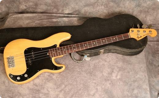Fender Precision 1976 Natural