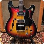 Burns Vintage 1966 Baldwin Burns Vibraslim Sunburst Semi Acoustic Guitar