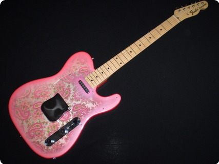 Fender Paisley Telecaster 1987 Pink