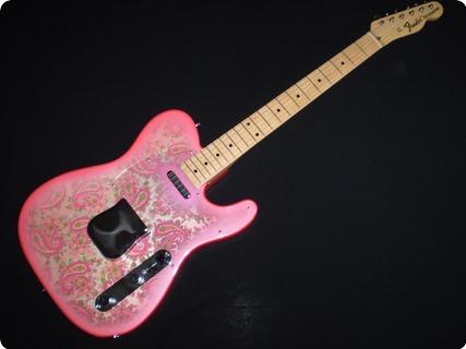 Fender Paisley Telecaster 1987 Pink