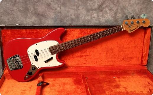 Fender Mustang Bass 1967 Dakota Red