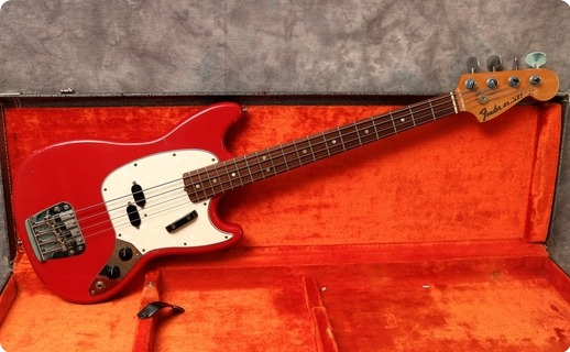 Fender Mustang Bass 1967 Dakota Red