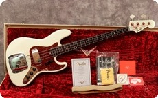Fender Custom Shop 64 Jazz Relic 2010 Sonic Blue