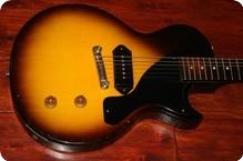 Gibson-Les Paul Junior  (GIE1091)  -1957-Sunburst