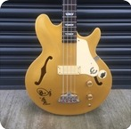 Epiphone-Jack Casady Bass Ex Mani THE STONE ROSES-Goldtop