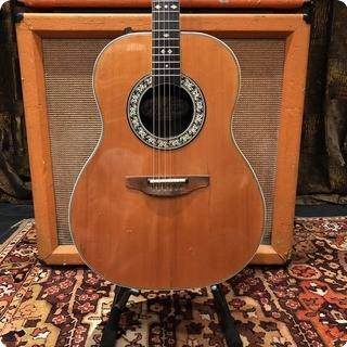 Ovation Vintage 1974 Ovation 1627 4 Glen Campbell Semi Acoustic Guitar 5.2lbs
