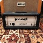 Matamp Vintage 1970s Matamp Orange Slave Unit SL100 Valve Amplifier Head