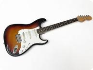 Fender Stratocaster American Standard 19867 Pre Owned First Edition USA Std 1986 Sunburst