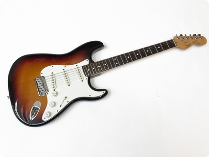 Fender Stratocaster American Standard – 1986/7 Pre Owned First Edition Usa Std 1986 Sunburst