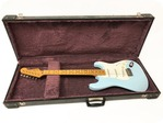 Fender Stratocaster 57 American Vintage Re Issue 1982 Refinished 1982 Daphne Blue
