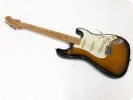 Fender Stratocaster 1954 Re Issue Crafted In Japan Pre Owned 1998 Sunburst