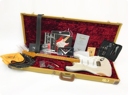 Fender Stratocaster Custom Shop 1954 Ltd Edition 60th Anni Heavy Relic – Pre Owned 2014 Blonde