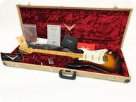 Fender-Stratocaster Custom Shop 1956 Ltd Edition Relic – Pre Owned – 2 Tone Sunburst-2016-Sunburst
