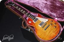 Gibson Custom Shop Les Paul 1960 Historic Reissue Bavarian Makeover II 2003 Heritage Cherry Sunburst