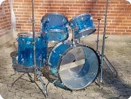 Ludwig Vintage Vistalite 1975 Blue Vistalite