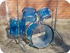 Ludwig Vintage Vistalite 1975-Blue Vistalite