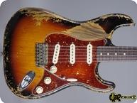 Fender Stratocaster 59 Masterbuilt Ultra Relic 2017 3 tone Sunburst