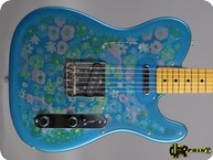 Fender Telecaster 1988 Blue Flower