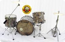 Tama Rockstar Guns Roses 1985 Faux Stone Guns And Roses