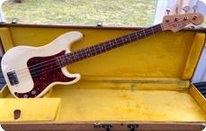 Fender Precision 1965 Olympic White