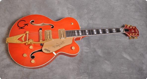 Gretsch 6120 W Nashville Western 1994 Orange