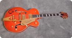 Gretsch-6120 W Nashville Western-1994-Orange