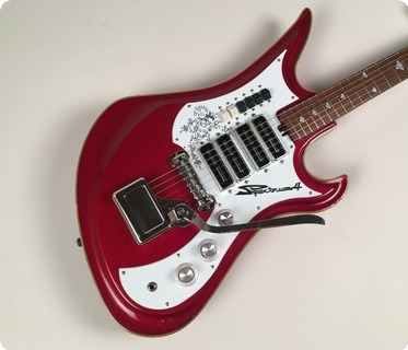 Teisco Spectrum 4 1967 Metallic Red