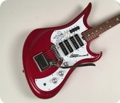 Teisco Spectrum 4 1967 Metallic Red