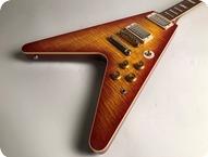 Gibson-Flying V-2007-Cherry Sunurst