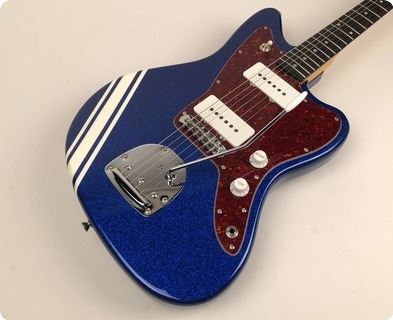 Bell & Hern Jazzcaster 2018 My Aim Is Blue Sparkle