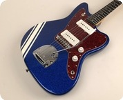 Bell Hern JazzCaster 2018 My Aim Is Blue Sparkle