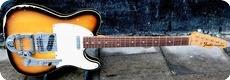 Fender-Telecaster Custom / Bigsby-1969-Sunburst