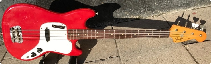 Fender Musicmaster 1974 Dakota Red