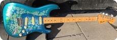 Fender-Straotcaster / Blue Floral-1986-Blue Floral