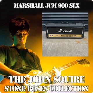 Marshall Jcm900 Slx Head The John Squire Collection Black