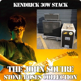 Kendrick Custom Built 30w Stack The John Squire Collection Black