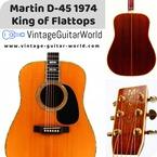 Martin D 45 1974 Natural