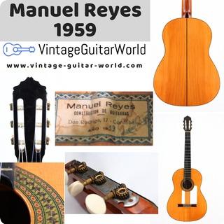 Manuel Reyes 1a Signed 1959