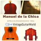 Manuel De La Chica 1a Signed 1954