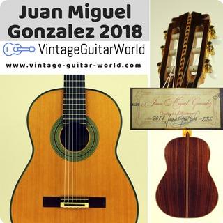 Juan Miguel Gonzalez 1a Signed 2018