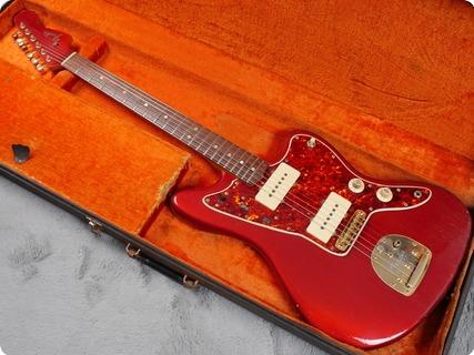 Fender Jazzmaster 1965 Candy Apple Red Gold Hardware