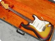 Fender-Stratocaster 'The Baby Sitter Strat'-1966-Sunburst