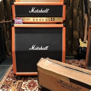 Marshall Vintage 1990 Marshall Jcm800 Lead 50w Custom Orange Stack