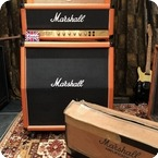 Marshall Vintage 1990 Marshall JCM800 Lead 50w Custom Orange Stack