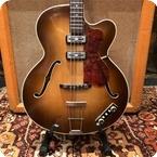 Hofner Vintage 1960 Hofner 500 5 Stuart Sutcliffe Brunette Bass Guitar