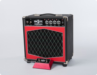 Monster Boutique Amps Monster Pineland Dca 110 Combo 2019 Black & Red