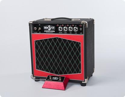 Monster Boutique Amps Monster Pineland Dca 110 Combo 2019 Black & Red