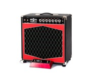 Monster Boutique Amps-Monster Pineland 15/25 RDCB 112 Combo-2019-Black & Red