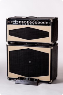 Monster Boutique Amps Monster Pineland 75w Rsca Head + Monster Pineland Mcs 112 Cabinet 2019 Black & Ivory